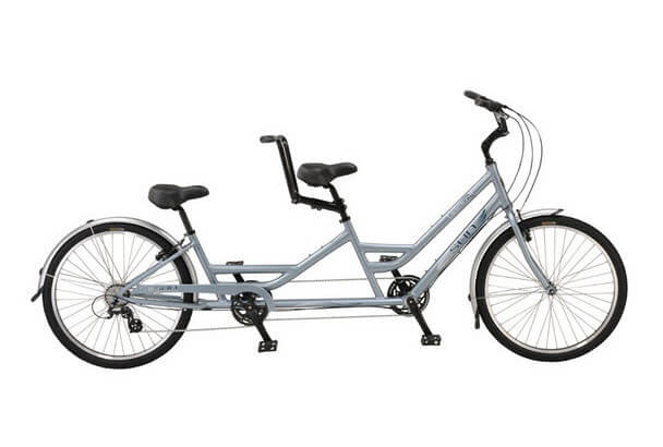 Brickell Tandem Bike, 7-speed bike rentals (bike built for two) at Mackinaw Mill Creek Camping.