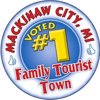 Mackinaw City voted as the top tourist town in Michigan.