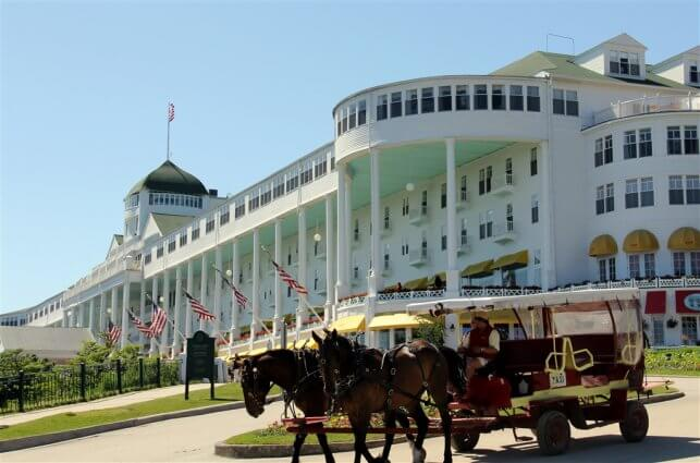 Photo of the Grand Hotel on Mackinac Island. © 2016 Frank Rogala.