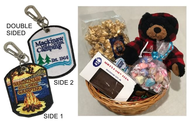 Gifts For Campers Gift Baskets From Mackinaw Mill Creek Camping