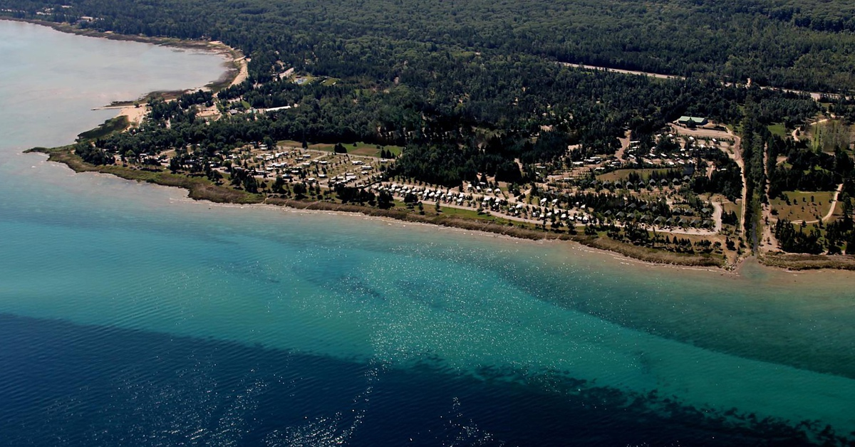 Campgrounds Michigan In Northern Full Hook Up