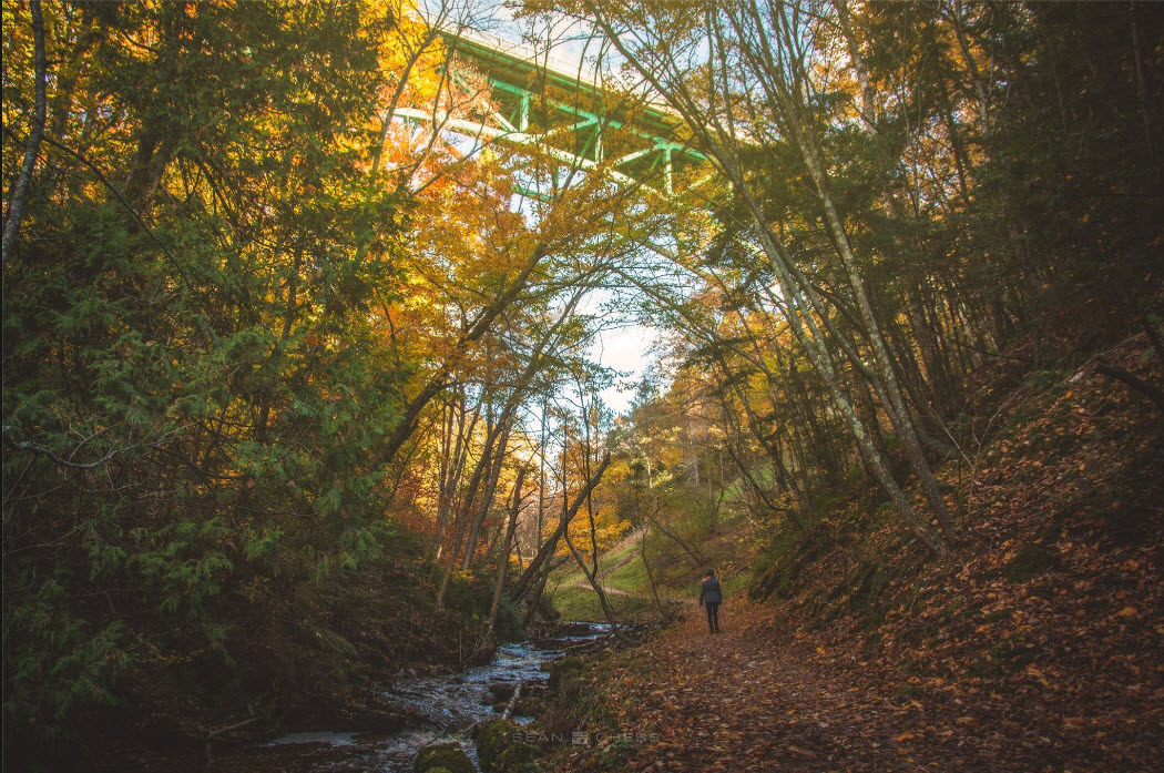 Photo under Cut River Bridge UP Michigan