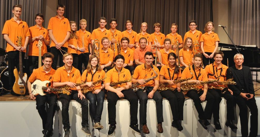 Photo of the Goethes Groove Connection, a musical performing group. Image source: emmendingen.de.
