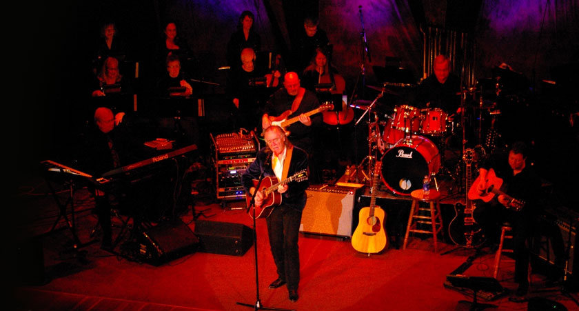 Photo of the Gordon Lightfoot Tribute Band, a musical performing group. Image source: lightfoottribute.com.