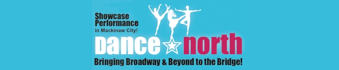 Photo of logo for Dance North, a musical performing group. Image source: dancenorth.org.