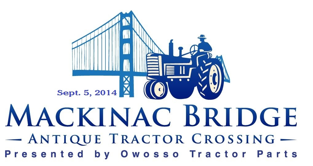 Logo for the Mackinac Bridge Antique Tractor Crossing. Image source: bobstractorpartscorner.com.