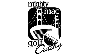 Logo for the Mighty Mac Golf Outing. Image source: mackinawchamber.com.