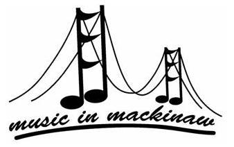 Logo for Music in Mackinaw. Image source: mackinawchamber.com.