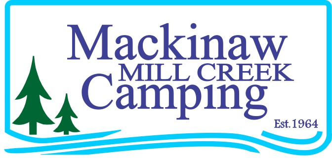 Logo for Mackinaw Mill Creek Camping